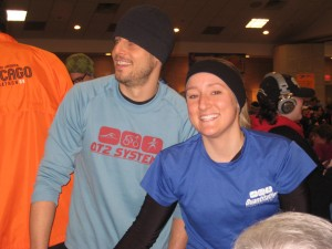 The Snows... super speedy!  Yeah that's Cait, the fastest female of the day :)