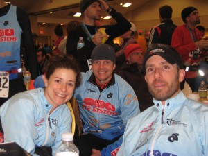 Posing with two VERY fast QT2'ers... Coach John and Tim Tapp... Yowsa!