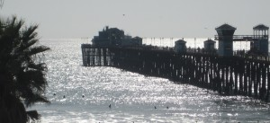 Oceanside Pier - along the run course